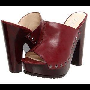 KORS Michael Kors Kempsey Leather Studded Mules
